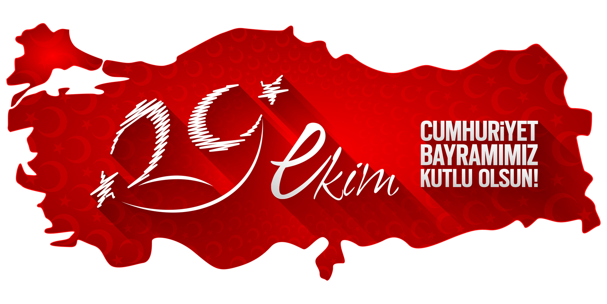 Tipografi almas; 29 Ekim Cumhuriyet Bayram